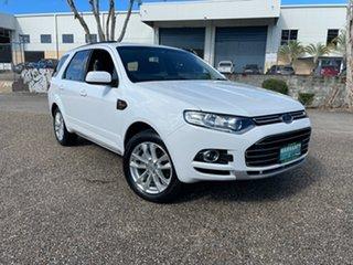 2011 Ford Territory SZ TX (RWD) White 6 Speed Automatic Wagon.