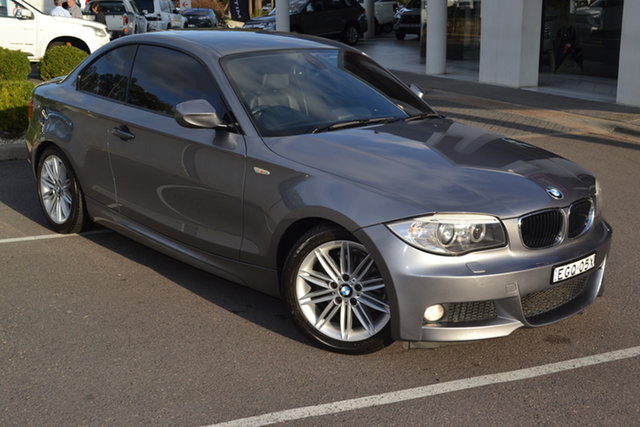 Used BMW 1 Series E82 LCI MY11 120i Steptronic Maitland, 2011 BMW 1 Series E82 LCI MY11 120i Steptronic Grey 6 Speed Sports Automatic Coupe