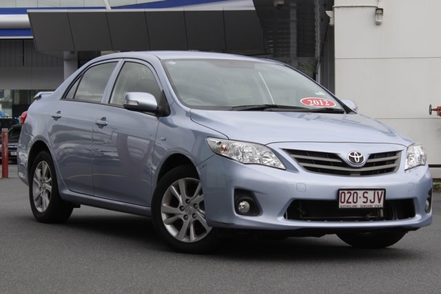 Used Toyota Corolla ZRE152R MY11 Ascent Sport Mount Gravatt, 2012 Toyota Corolla ZRE152R MY11 Ascent Sport Blue 4 Speed Automatic Sedan