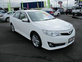 2013 Toyota Camry ATARA R White 6 Speed Automatic Sedan.
