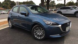 2021 Mazda 2 DJ2HAA G15 SKYACTIV-Drive Evolve Eternal Blue 6 Speed Sports Automatic Hatchback.