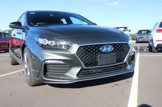 2021 Hyundai i30 PD.V4 MY21 N Line D-CT Amazon Gray 7 Speed Sports Automatic Dual Clutch Hatchback.