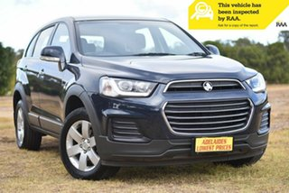 2016 Holden Captiva CG MY16 LS 2WD Blue 6 Speed Sports Automatic Wagon.