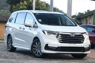 2021 Honda Odyssey RC 21YM Vi LX7 Platinum White 7 Speed Constant Variable Wagon.