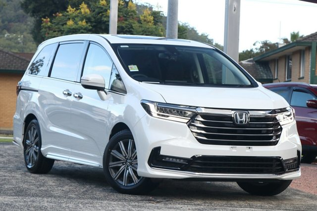 New Honda Odyssey RC 21YM Vi LX7 Newstead, 2021 Honda Odyssey RC 21YM Vi LX7 Platinum White 7 Speed Constant Variable Wagon