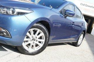 2017 Mazda 3 BN5278 Maxx SKYACTIV-Drive Blue 6 Speed Sports Automatic Sedan.