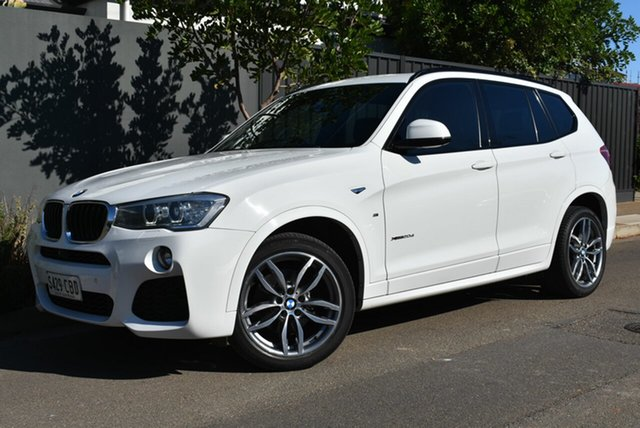 Used BMW X3 F25 LCI xDrive20d Steptronic Brighton, 2016 BMW X3 F25 LCI xDrive20d Steptronic White 8 Speed Automatic Wagon