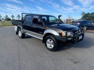 2003 Nissan Navara ST-R ST-R (4x4) Blue 5 Speed Manual Wagon.