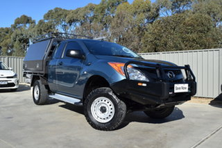 2015 Mazda BT-50 UP0YF1 XT Freestyle 4x2 Hi-Rider Grey 6 Speed Sports Automatic Cab Chassis.