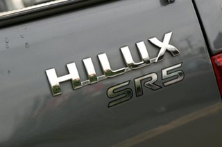 2012 Toyota Hilux KUN26R MY12 SR5 Double Cab Dark Grey Mica 4 Speed Automatic Utility