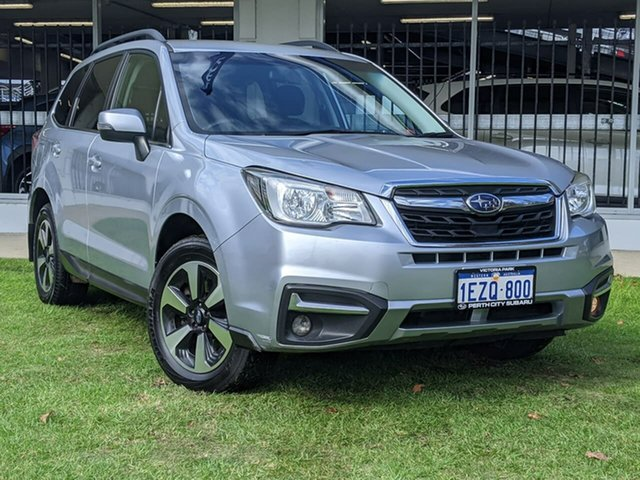 Used Subaru Forester S4 MY16 2.0D-L CVT AWD Victoria Park, 2016 Subaru Forester S4 MY16 2.0D-L CVT AWD Silver 7 Speed Constant Variable Wagon