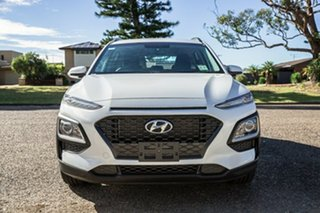 2018 Hyundai Kona OS MY18 Active 2WD White 6 Speed Sports Automatic Wagon