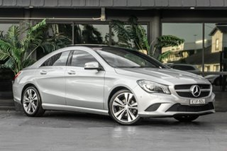 2013 Mercedes-Benz CLA-Class C117 CLA200 DCT Silver 7 Speed Sports Automatic Dual Clutch Coupe.
