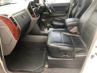 2003 Mitsubishi Pajero NP Exceed LWB (4x4) White 5 Speed Auto Sports Mode Wagon