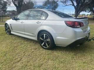 2016 Holden Commodore Vfii MY16 SV6 Black Edition Silver 6 Speed Automatic Sedan