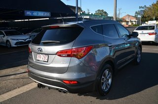 2012 Hyundai Santa Fe DM Elite CRDi (4x4) Grey 6 Speed Automatic Wagon.