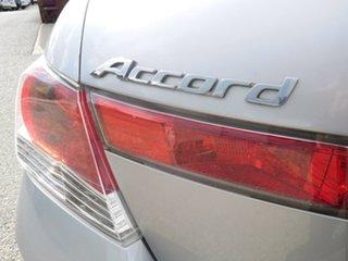 2008 Honda Accord 8th Gen V6 Luxury Silver 5 Speed Sports Automatic Sedan