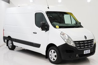 2013 Renault Master X62 MWB White 6 Speed Manual Cab Chassis