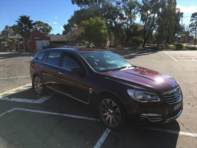 Used Holden Calais VF MY14 V Sportwagon Yarrawonga, 2013 Holden Calais VF MY14 V Sportwagon Maroon 6 Speed Sports Automatic Wagon