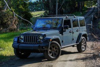 2018 Jeep Wrangler JK MY18 Golden Eagle Grey 5 Speed Automatic Softtop.