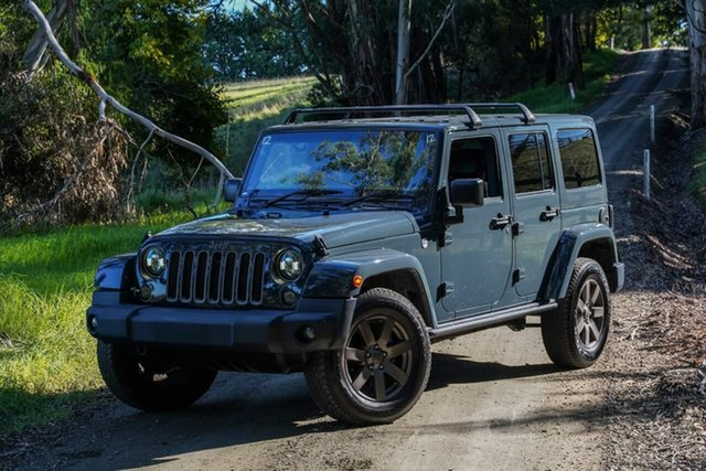 Used Jeep Wrangler JK MY18 Golden Eagle Berwick, 2018 Jeep Wrangler JK MY18 Golden Eagle Grey 5 Speed Automatic Softtop