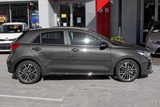 2021 Kia Rio YB MY21 GT-Line DCT Grey 7 Speed Sports Automatic Dual Clutch Hatchback