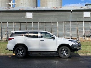 2017 Toyota Fortuner GUN156R GXL Glacier White 6 Speed Automatic Wagon.