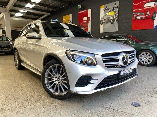 Used Mercedes-Benz GLC-Class X253 Glebe, 2017 Mercedes-Benz GLC-Class X253 GLC250 Silver Sports Automatic Wagon