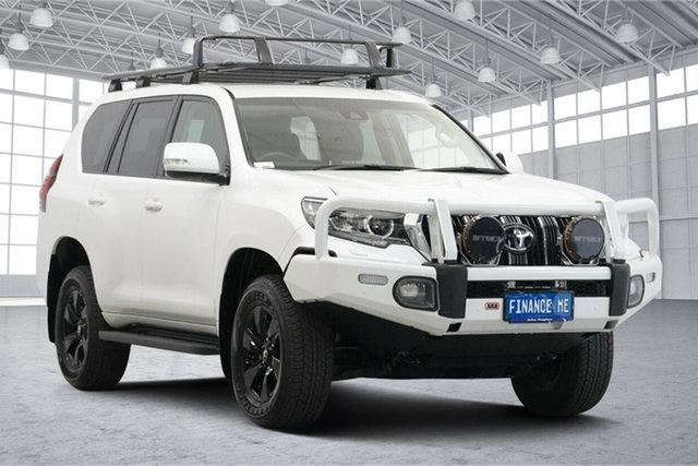 Used Toyota Landcruiser Prado GDJ150R GXL Victoria Park, 2019 Toyota Landcruiser Prado GDJ150R GXL White 6 Speed Sports Automatic Wagon
