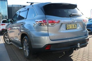 2015 Toyota Kluger GSU55R Grande AWD Silver 6 Speed Sports Automatic SUV.