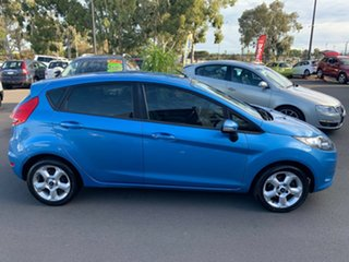 2010 Ford Fiesta WS LX Blue 4 Speed Automatic Hatchback