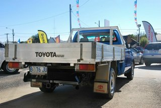 2010 Toyota Hilux TGN16R MY11 Upgrade Workmate Blue 5 Speed Manual Cab Chassis