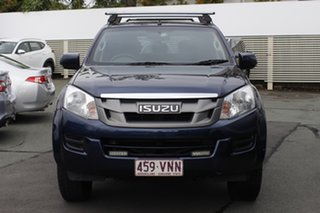 2015 Isuzu D-MAX MY15 SX Crew Cab Blue 5 Speed Sports Automatic Cab Chassis.