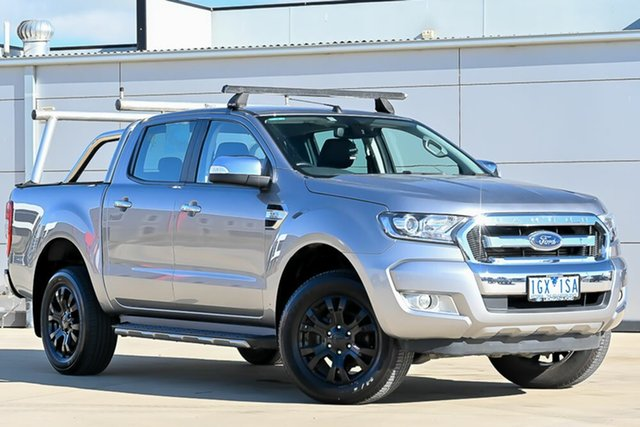Used Ford Ranger PX MkII XLT Double Cab Pakenham, 2016 Ford Ranger PX MkII XLT Double Cab Silver 6 Speed Sports Automatic Utility