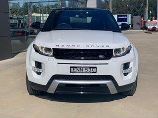 2014 Land Rover Range Rover Evoque L538 MY14 Dynamic Fuji White 9 Speed Sports Automatic Wagon.