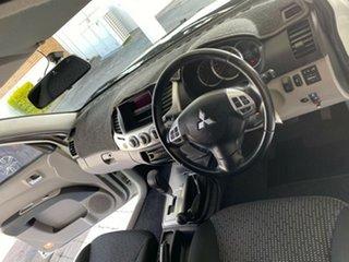 2013 Mitsubishi Triton MN MY12 GLX-R White 5 Speed Sports Automatic Dual Cab Utility