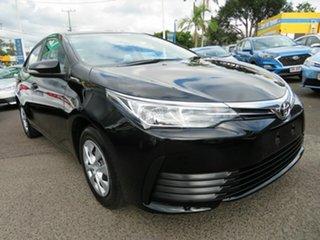 2019 Toyota Corolla ZRE172R Ascent S-CVT Black 7 Speed Constant Variable Sedan.