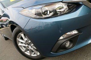 2016 Mazda 3 BN5478 Maxx SKYACTIV-Drive Gunmetal Blue 6 Speed Sports Automatic Hatchback.