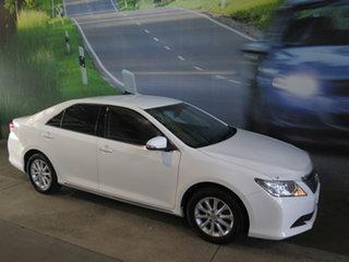 2015 Toyota Aurion GSV50R MY15 AT-X White 6 Speed Automatic Sedan.