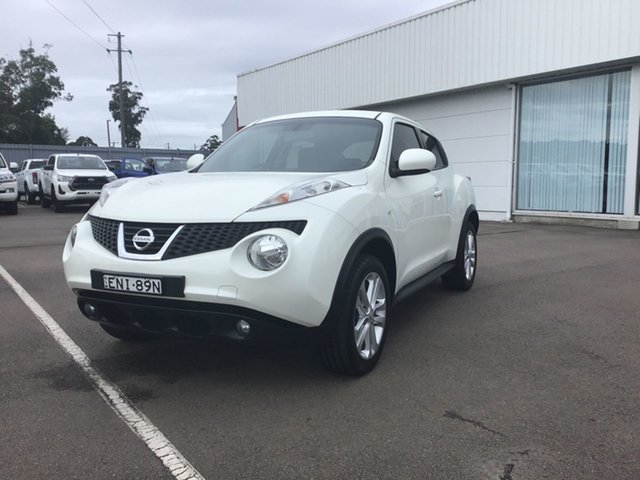 Used Nissan Juke F15 MY14 ST 2WD Cardiff, 2013 Nissan Juke F15 MY14 ST 2WD White 1 Speed Constant Variable Hatchback