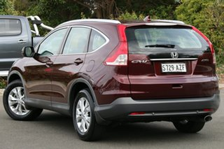 2013 Honda CR-V RM VTi-S 4WD Carnelean Red 5 Speed Automatic Wagon.