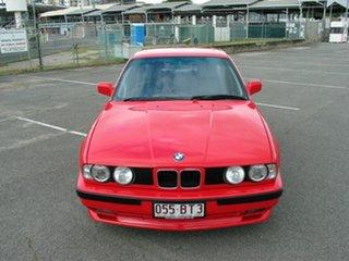 1990 BMW 535is Red 5 Speed Manual Sedan