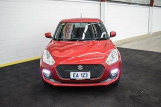 2017 Suzuki Swift FZ MY15 GL Navigator Red 4 Speed Automatic Hatchback.