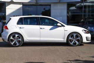 2016 Volkswagen Golf VII MY16 GTI DSG White 6 Speed Sports Automatic Dual Clutch Hatchback.