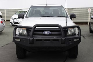 2011 Ford Ranger PX XL White 6 Speed Manual Utility.