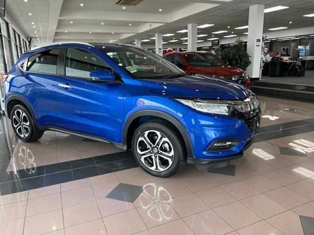 New Honda HR-V MY21 VTi-LX Mount Gravatt, 2021 Honda HR-V MY21 VTi-LX Blue 1 Speed Constant Variable Hatchback