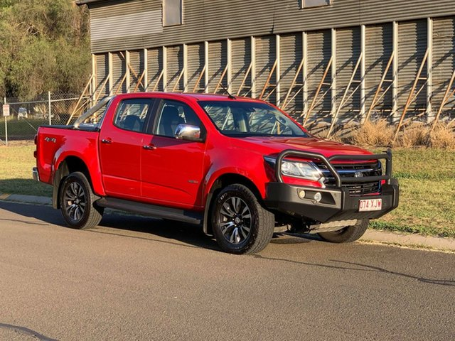Pre-Owned Holden Colorado RG MY17 LTZ (4x4) Oakey, 2017 Holden Colorado RG MY17 LTZ (4x4) Red 6 Speed Automatic Crew Cab Pickup