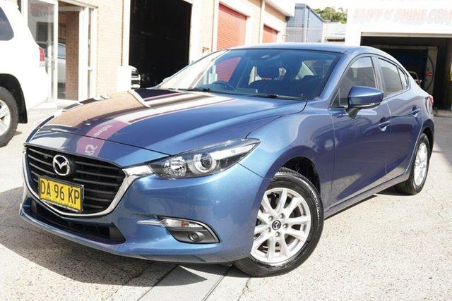 Used Mazda 3 BN5278 Maxx SKYACTIV-Drive Narrabeen, 2017 Mazda 3 BN5278 Maxx SKYACTIV-Drive Blue 6 Speed Sports Automatic Sedan