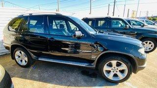 2004 BMW X5 E53 MY05 d Steptronic Black 6 Speed Sports Automatic Wagon.