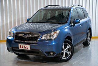 2015 Subaru Forester S4 MY15 2.5i-L CVT AWD Special Edition Blue 6 Speed Constant Variable Wagon.